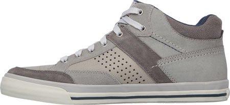 Skechers M�nner Entspannter Fit Diamondback Oduro High Top Sneaker, Grau