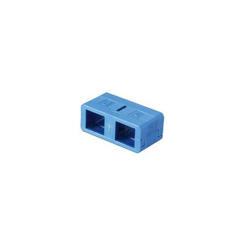 SC Clips for SC Singlemode Duplex Connector Clips 10 Pack Blue for Fiber Optic Cable
