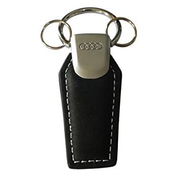 Silver AUDI 3181500400 Key Ring Rings