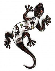 Marvells Wire Gecko Outdoor Wall Art Amazon Co Uk Garden Outdoors