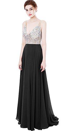 formal black dress jewelry - 7