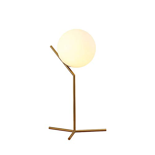 YUE Light Mesa De Lámpara De Mesa Nórdica Dormitorio Minimalista Moderno Estudio De La Cama Personalidad Creativa Luz De...