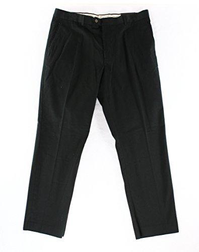 Light Two Elba (Tasso Elba Mens Light Fabric Regular Fit Chino Pants Black 36/32)