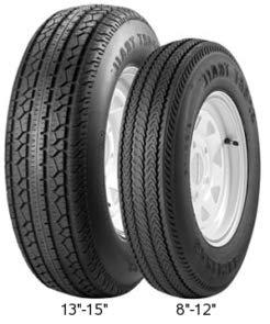 Carlisle 5193181 Sport Trail Bias Trailer Tire - 480-8 LRC-6 ply