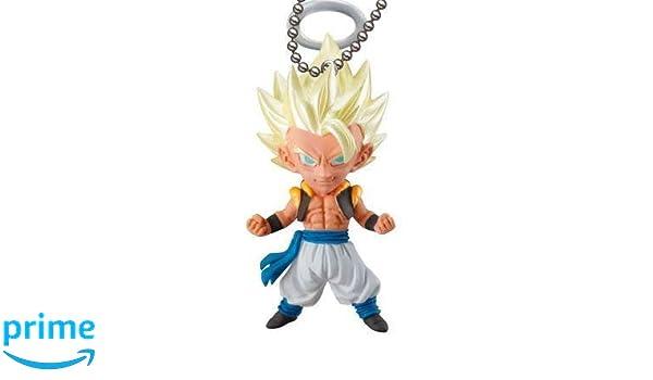 Dragon Ball Super UDM Burst 32 SSGSS Vegeta Gacha Capsule Mascot Swing Key Chain