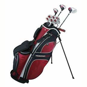 Prosimmon Golf DRK Mens RH Graphite/Steel Hybrid Club Set and Stand Bag, Outdoor Stuffs