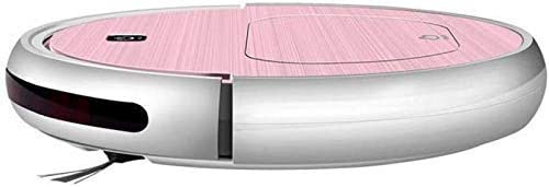 RVTYR Robot de Nettoyage Balayer Robot Nettoyeur Intelligent aspirateur Domestique Balayage Glisser Aspiration Machine, Orange (Color : Orange) Pink