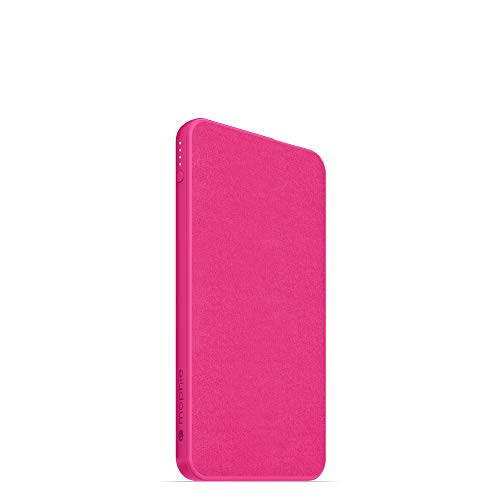 powerstation Mini - Universal Battery - Made for Smartphones, Tablets, and Other USB-C and USB-A Compatible Devices (5,000mAh) - Pink