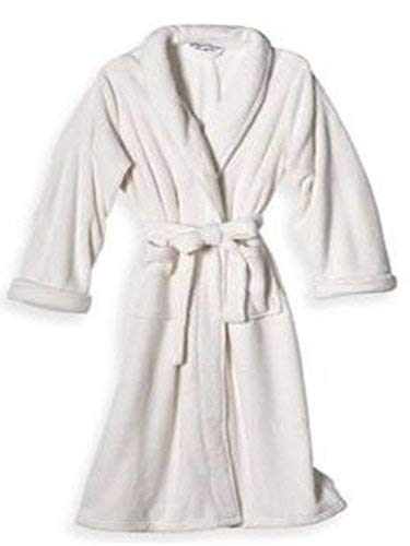 Elizabeth Arden Spa Essentials - Ultra Plush Robe - Large/Extra Large (Ivory) - Elizabeth Arden Spa
