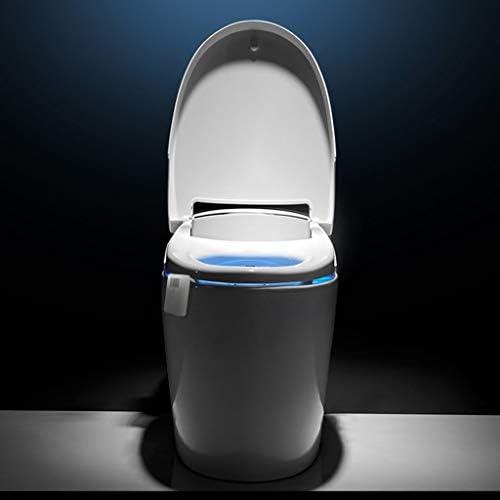 Queen Boutiques 16 Colores del Sensor de Movimiento WC LED luz de la Noche del Cuerpo Humano activación automática Blanca Durable del ABS Sensor de Ahorro de energía