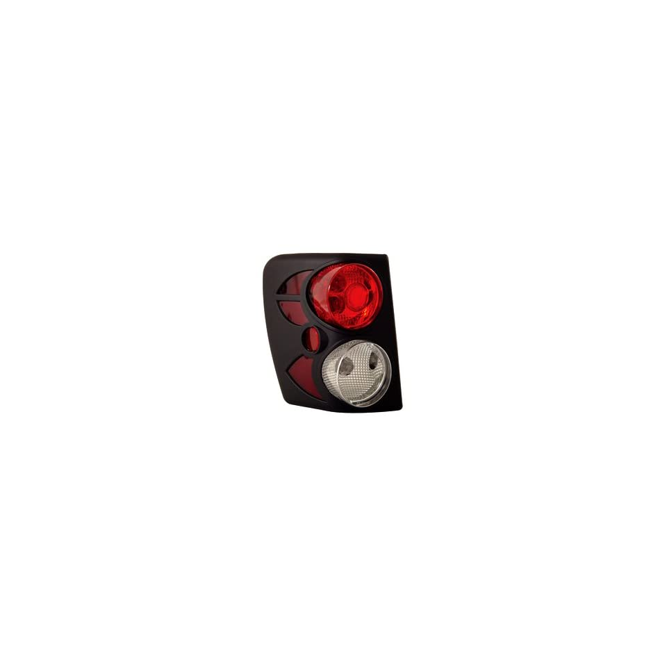 Anzo USA 211105 Jeep Grand Cherokee Black Tail Light Assembly   (Sold in Pairs)