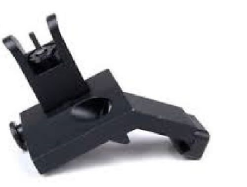 MUDCAT OUTDOORS Front and Rear Flip Up 45 Degree Offset Rapid Transition Backup Iron Sight by  (Image #3)