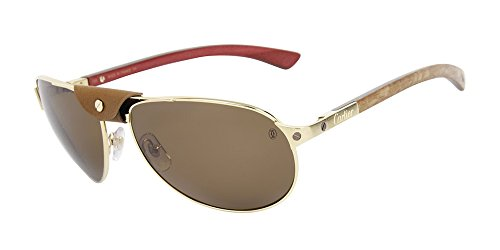0e68024abc Cartier T8200940 FR00 SANTOS-DUMONT Gold Men s 61mm Sunglasses - Buy Online  in KSA. Apparel products in Saudi Arabia. See Prices