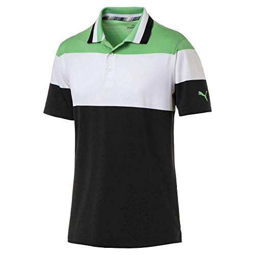 Puma Golf Men's 2019 Nineties Polo, Irish Green, Medium