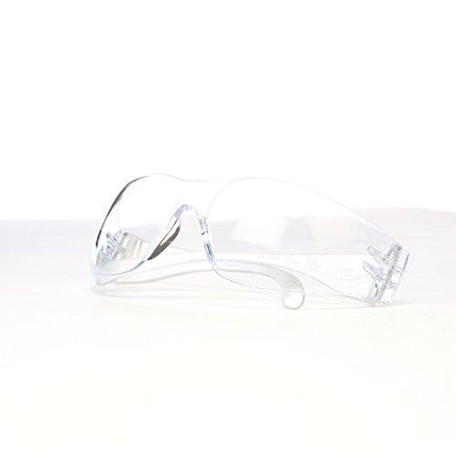 3M Virtua Protective Eyewear, 11329-00000-20 Clear Anti-Fog Lens, Clear Temple (Pack of 20) by 3M Personal Protective Equipment (Image #3)