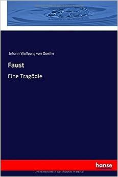 Book Faust: Eine Tragödie (German Edition)