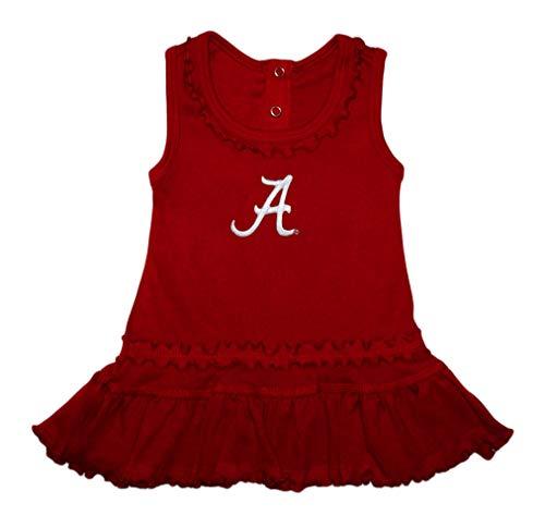 - University of Alabama Crimson Tide Ruffled Tank Top Dress with Bloomers