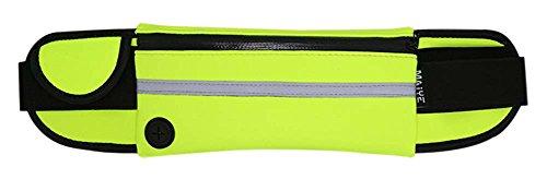 Außen Mobile Security multifunktions-taschen Marathon Gürtel, leuchtgrün