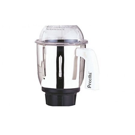 Preethi MG 509 Medium Mixer Jar for Eco Twin, Eco Plus/Chef Pro and Blue Leaf, 1-Liter, Silver (Preethi Coffee Maker compare prices)
