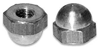 Cap Nuts/Acorn Nuts 8-32 (Pack of 5000) by InStock Fasteners