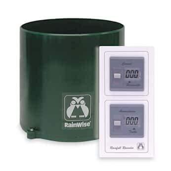 Rainwise Gauge Rain - Rainwise RAINEW-Wireless Wireless Dual Display Rain Gauge
