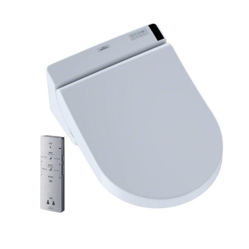 Toto Sw2047T20#01 Washlet C200 Connect + D-Shape Washlet C200 Connect+ D-Shape Bidet Toilet Seat With Premist, Cotton - Toto Electronic