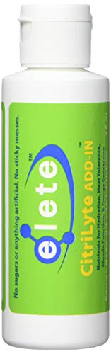 Elete Citrilyte Electrolyte Bottle, 4-Ounce
