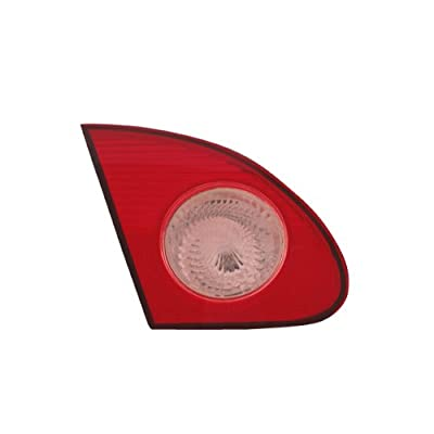 TYC 17-5188-00 Toyota Corolla Replacement Driver Side Reflex Reflector: Automotive