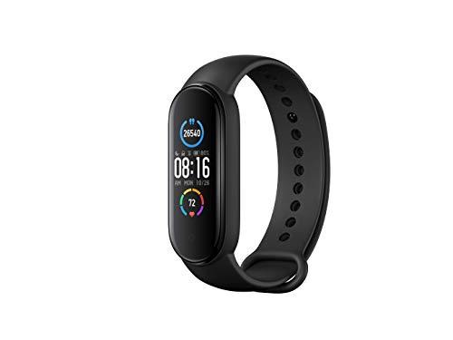 Xiaomi Mi Band 5 Black Health and Fitness Tracker, Upto 14 Days Battery, Heart Rate Monitor, Sleep T