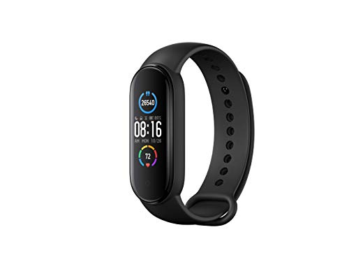 Xiaomi Mi Band 5 Smart Wristband 1.1 inch Color Screen Miband with black