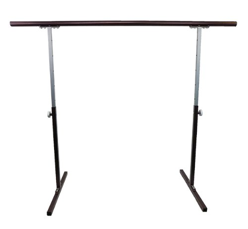 Softtouch Ballet Barre 5.5ft Portable Dance Bar - Adjustable Height 31