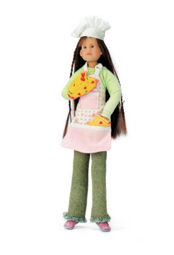 Amazon.com: Anna Sophia en Chef Disfraz W/Mini libro: Toys ...