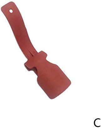WHZJXB-ZYP 1個カラフルなレイジー靴べらワンペダル靴アーティファクト怠惰な靴ヘルパーユニセックス取扱シューホーン簡単に靴リフティングヘルパー上&オフ (色 : C)