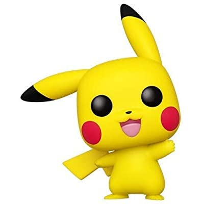 Funko Pop! Pokemon - Pikachu (Waving): Toys & Games