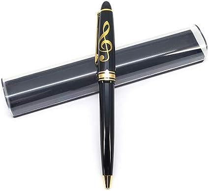 Bolígrafo con diseño de clave de sol con caja: Amazon.es: Oficina y papelería