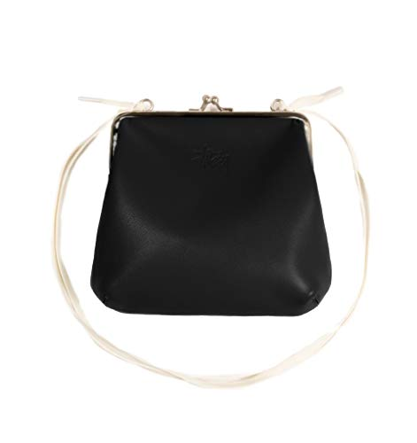 Stussy Vita Kisslock Purse 234071 Sac Unisexe Noir