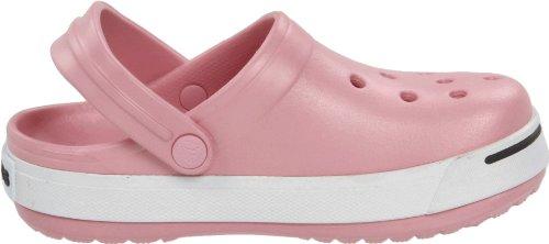 Crocs Crocband II Kids, Sabots mixte enfant Rose (Petal Pink/Graphite)
