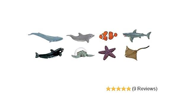 Safari Good Luck Minis Killer Whales 10 Pcs SHIPS FREE within USA