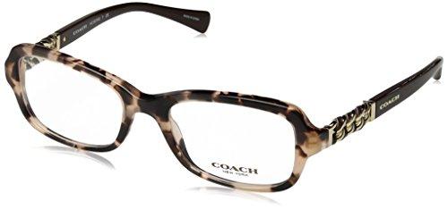 Coach Eyeglasses (COACH Women's 0HC6075Q Tortoise 1 One Size)