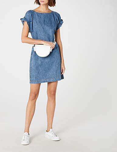 Donna Wash Blu Edc 902 Vestito Esprit blue Medium By 0wwtxF