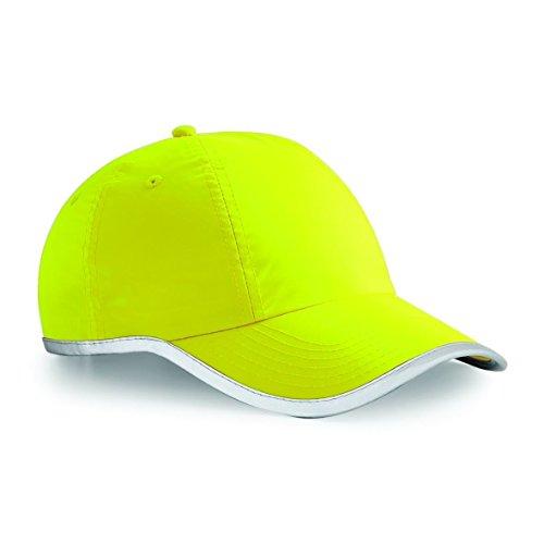 Viz Fluorescent Cap Yellow mejorada Beechfield a11qUS7Pwx