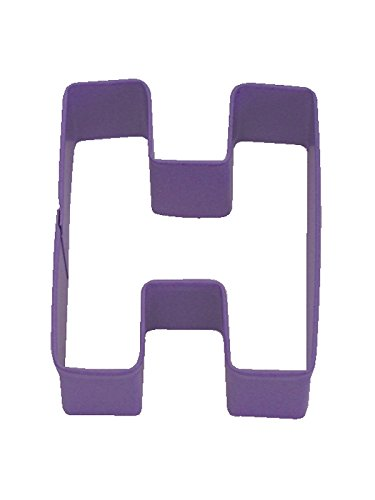 rm-letter-h-cookie-cutter-purple-with-brightly-colored-durable-baked-on-polyresin-finish