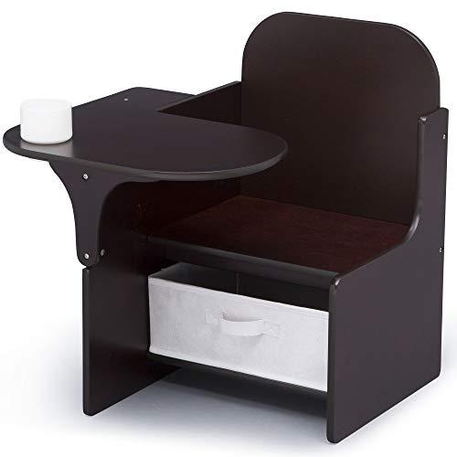 - Delta Children MySize Chair Desk with Storage Bin, Dark Chocolate