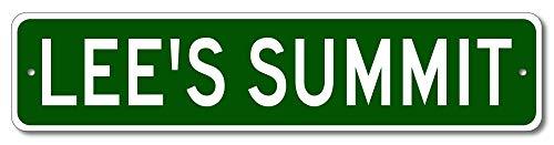 Lee's Summit, Missouri - USA City Sign - Aluminum 4