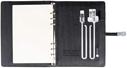 Amazon.com: Agenda Binder Daily Planner with Charger Cords ...