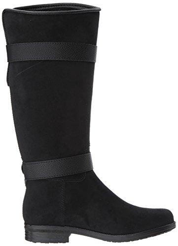 Boot Suede Rain Women's Bristol dav Black wHqZUS8c