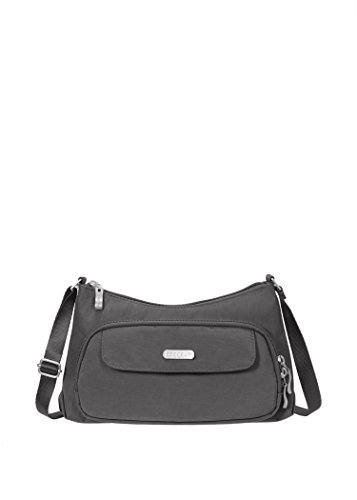 Baggallini Everyday Crossbody Travel Bag, Charcoal