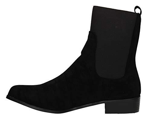 Femme Boots Swankyswans Chelsea Noir Noir 1 37 3 vETpnq