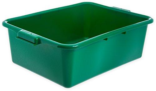 (Carlisle N4401109 Comfort Curve Ergonomic Wash Basin Tote Box, 7