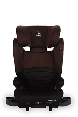 Diono Monterey XT Booster 2-in-1 Car Seat, For Children from 40-120 Pounds, Red